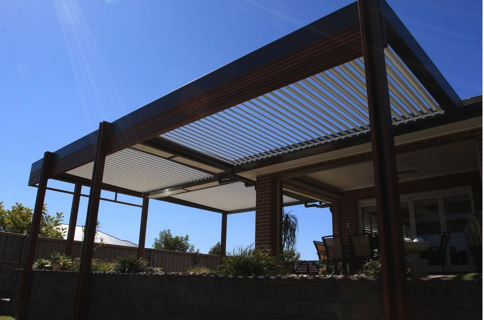 Outdoor Louvre Roof Systems Pergolas Gazebos Nz Pacific Powder